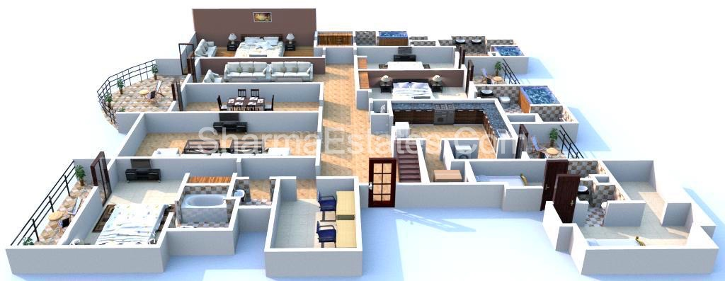 Penthouse-Ambience-Caitriona-DLF-City-Phase-3-Sector-24-Gurugram-Haryana