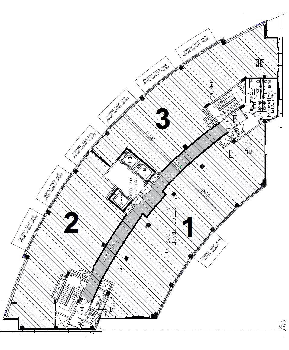 JW Marriott - Floor Typical Plan