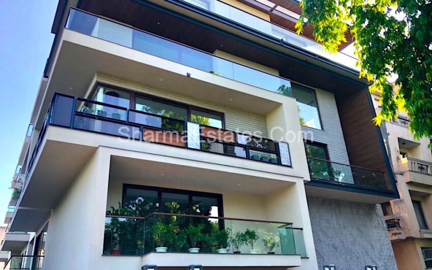 4 BHK Brand New Builder Apartment for Sale West End Colony New Delhi | Super Luxury Ground Floor with Basement in South Delhi