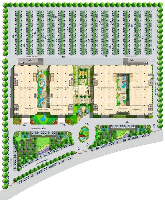 Master-Plan-Logix-Business-IT-Park-Sector-62-Noida