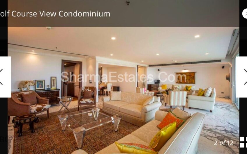 4 BHK Fully Furnished Luxury Apartment For Rent in DLF The Magnolias, DLF Golf Links, Golf Course Road, Sector-42, Gurgaon