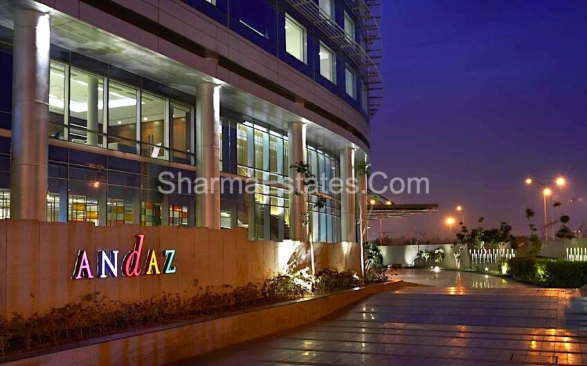 Office Space For Rent/ Lease in Andaaz Hyatt Aerocity Delhi | Furnished Space in Commercial Block of Hotel Near Airport