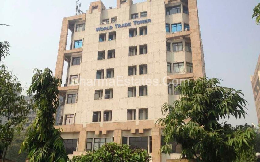 Fully Furnished Commercial Property for Rent in World Trade Tower, Barakhamba Road, New Delhi | Office Space on Lease WTT Tower CP
