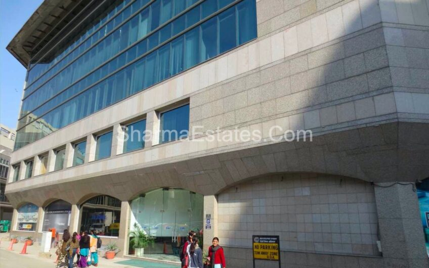 Fully Furnished Office Space for Rent/ Lease in Rectangle One, Saket, New Delhi | Commercial Property in Saket Near to Metro