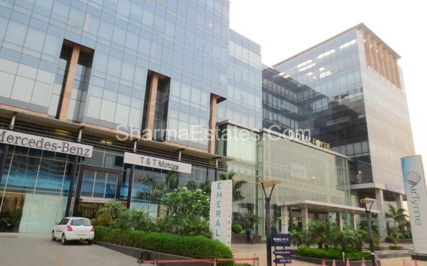 Office Space for Rent in Global Foyer Mall, Sector-43, Gurgaon | Furnished Office on Lease at DLF Golf Course Road Gurugram
