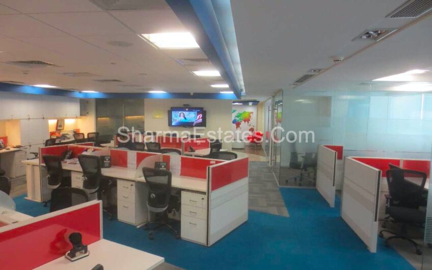 5,000 Sq.Ft. Fully Furnished Office Space For Rent in Sector-32, Gurgaon | Commercial Property Near Rajiv Chowk, NH-8