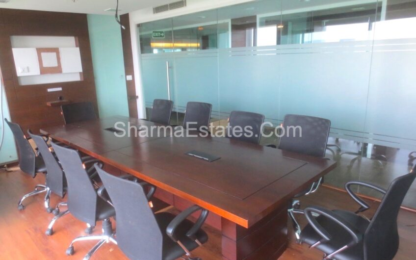 5,000 Sq.Ft. Fully Furnished Commercial Property For Lease/ Rent in Time Tower, MG Road, Sushant Lok, Phase- 1, Gurugram – Haryana