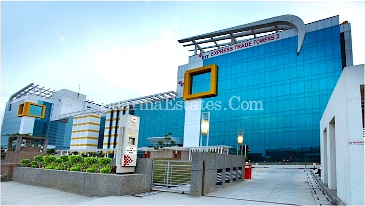 10,000 Sq.ft. Fully Furnished Office Space For Rent in Express Trade Tower- 2, Sector-132, Noida | Commercial Property in ETT Tower