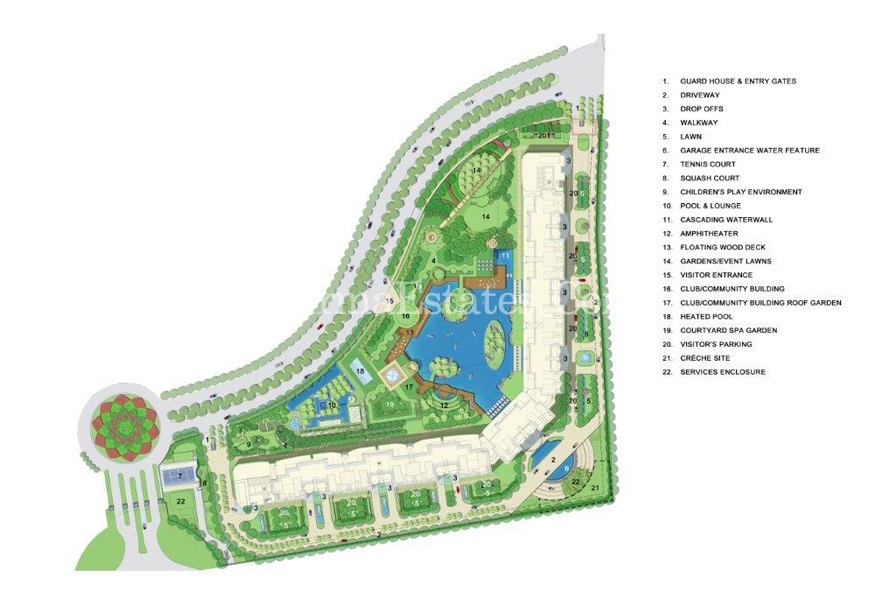 Master-Plan-The-Camellias-DLF-Golf-Drive-Sector-42-Gurugram